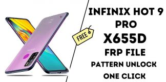 Infinix Hot 9 Pro X655F Frp File Tested Easy to Unlock