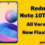 Redmi Note 10T/Pro 5G Flash File Firmware ROM