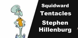 Squidward Tentacles Love That Squid Stephen Hillenburg