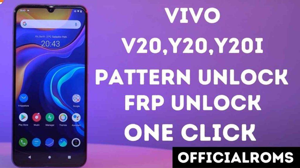 Vivo V2029 Y20,Y21s Pattern Unlock Hard reset Android 11