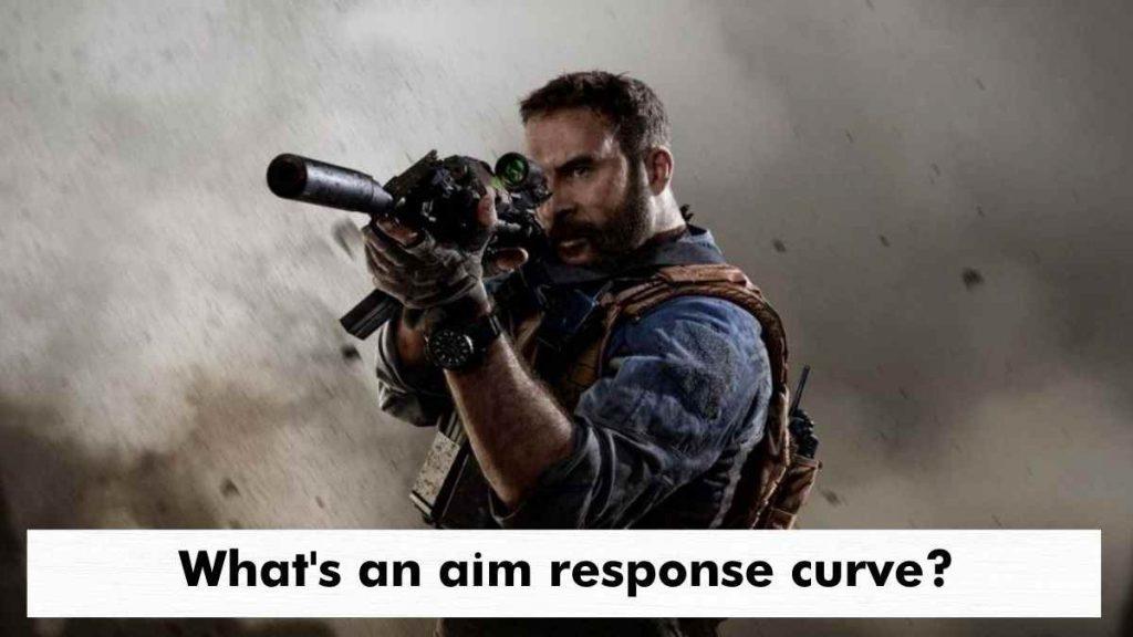 What's an aim response curve