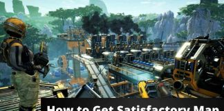 How to Get Satisfactory Map ,How to Unlock Map