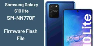 Samsung Galaxy S10 lite SM-N770F Firmware Flash File