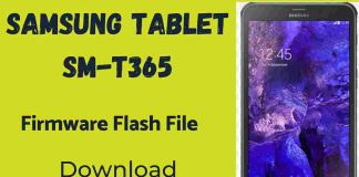 Samsung Tab Active SM–T365 Firmware Flash File (Stock Rom)