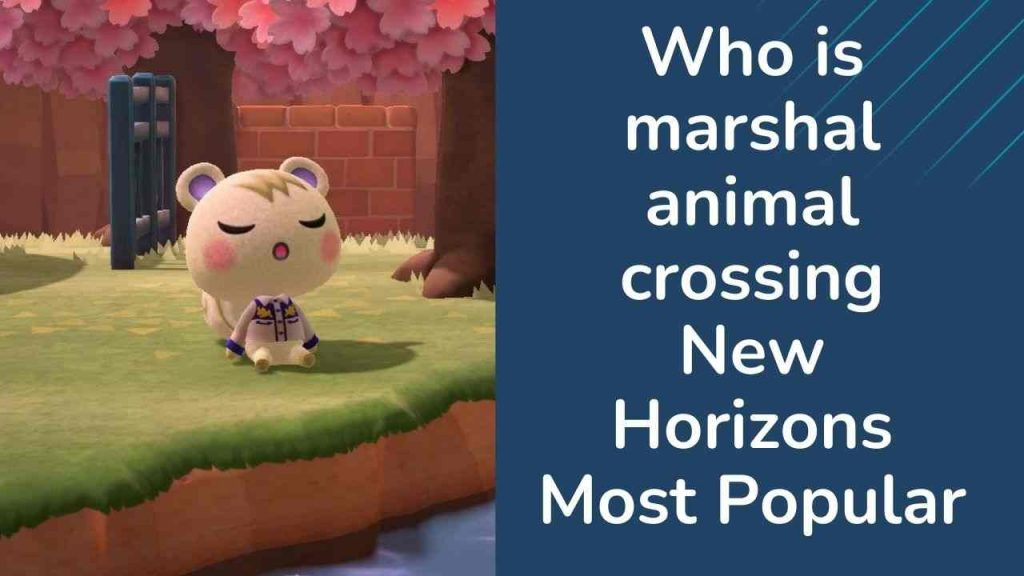 Who is marshal animal crossing New Horizons Most Popular
