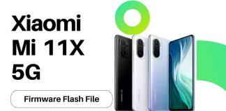 Xiaomi Mi 11X 5G Firmware Flash File (Stock Rom)