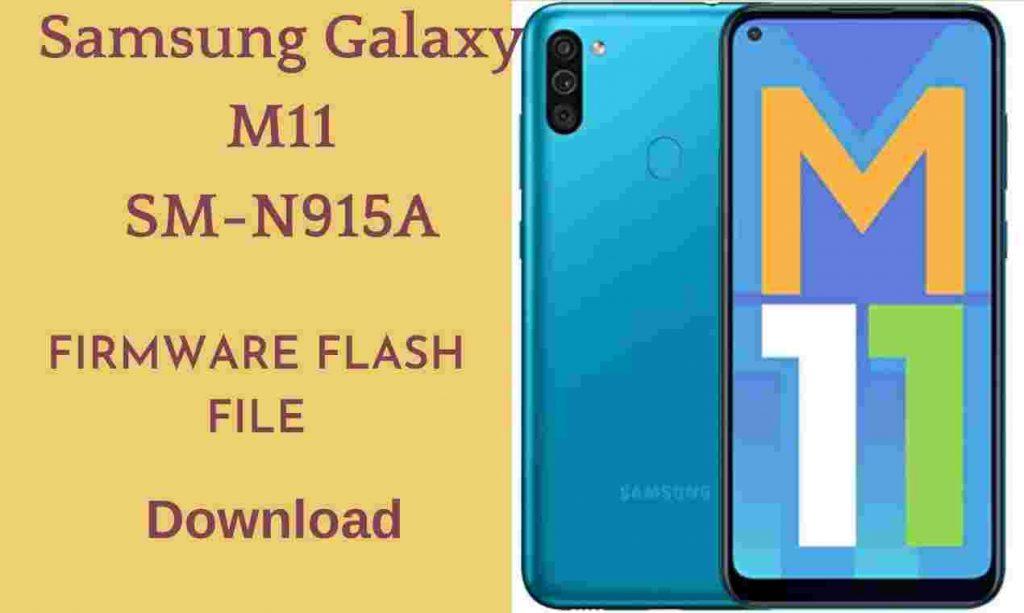 Samsung Galaxy M11 SM-M115F Firmware Flash File