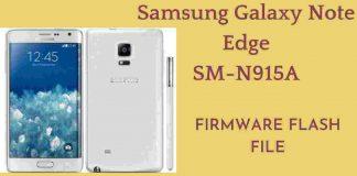 Samsung Galaxy Note Edge SM-N915A Firmware Flash File