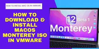 How to Download & Install macOS Monterey ISO for VMware
