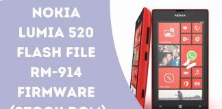 Nokia Lumia 520 Flash File RM-914 Firmware (Stock ROM)