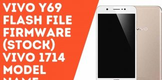 Vivo Y69 Flash File Firmware (Stock) vivo 1714 model name