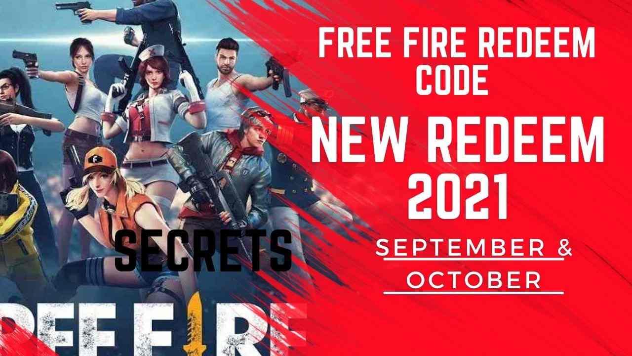 free fire redeem code 6 September 2021 GarenaFF Code