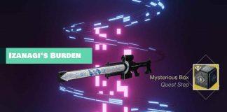 How to find Izanagi's Burden in Destiny 2