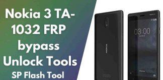 Nokia 3 TA-1032 FRP bypass Unlock   Nokia 3 FRP Bypass by Sp Tools