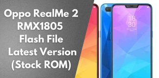Oppo RealMe 2 RMX1805 Flash File Latest Version (Stock ROM)