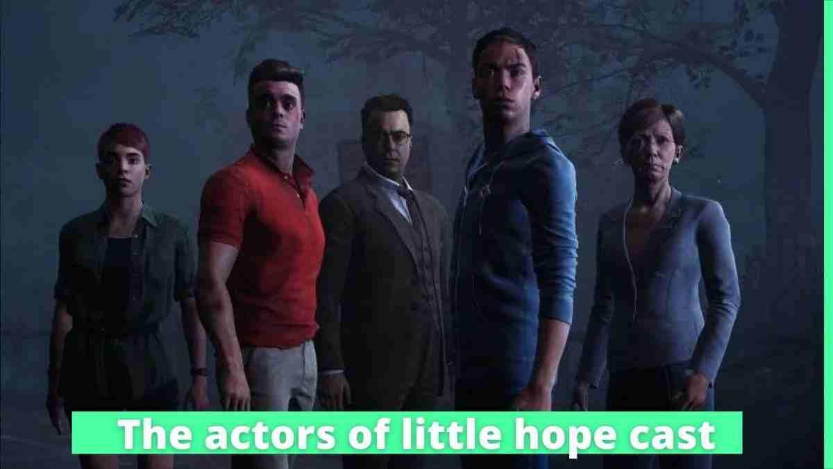 The actors of little hope cast | Caitlyn Sponheimer