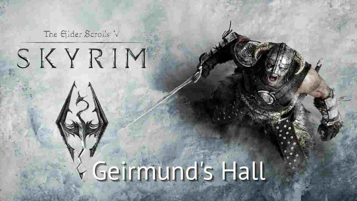 Skyrim: solve geirmund's hall puzzle 2021