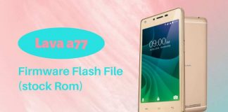 Lava a77 Firmware Flash File (Stock Rom)