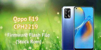 Oppo F19 CPH2219 Firmware flash file (stock rom)