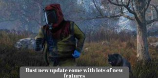 Rust new update come with lots of new features