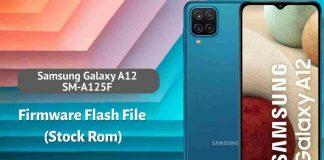 Samsung Galaxy A12 SM-A125F Firmware Flash File (Stock Rom)